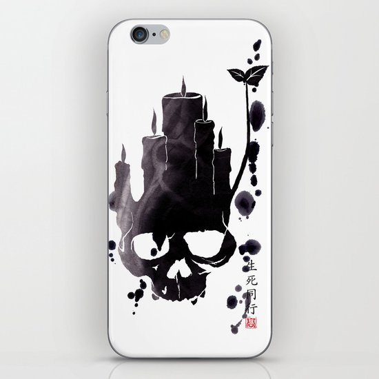 Death is Reborn/Reborn is Death iPhone & iPod Skin