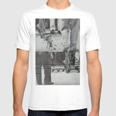 two of us 7 White MEDIUM Mens Fitted Tee