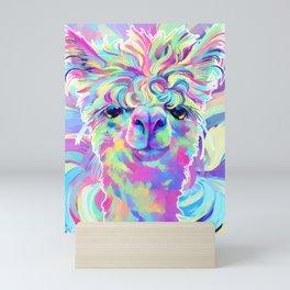 Graffiti Alpaca Mini Art Print