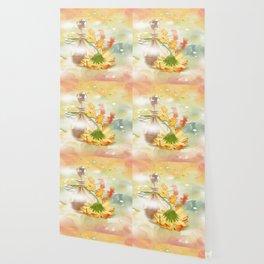 Duft der Blume - farbig Wallpaper