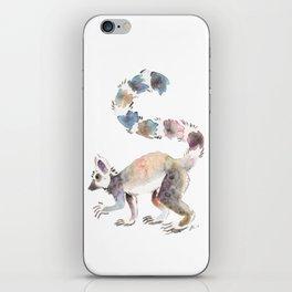 Splotchy Lemur iPhone Skin