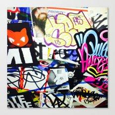 grafiti v.5 Canvas Print