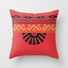 American Native Pattern No. 129 Throw Pillow