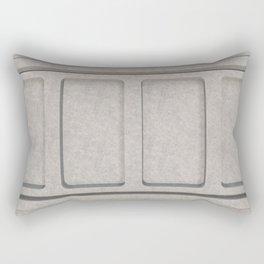 Concrete architectural elements Rectangular Pillow
