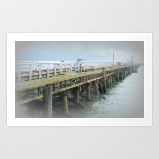 Jetty at Busselton Art Print