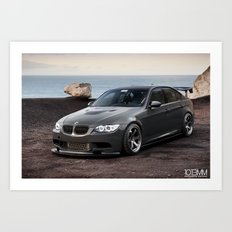 BMW 335i to M3 Conversion Art Print