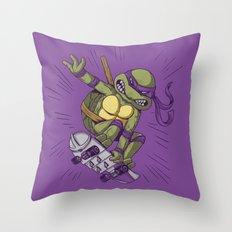 Shredding Throw Pillow
