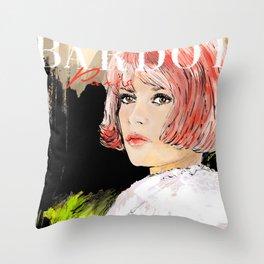 Bardot  Paris Throw Pillow