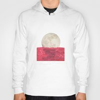 moonrise Hoodies featuring moonrise by sharon