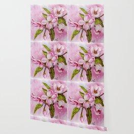 SPRING PINK BLOSSOMS Wallpaper