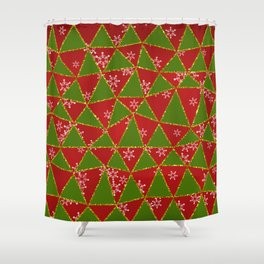 Merry Christmas to You Shower Curtain
