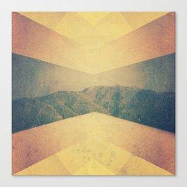patterned hillside Canvas Print