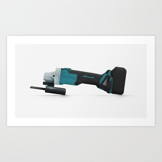 grinder Art Print