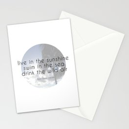 Drink the Wild Air Stationery Cards
