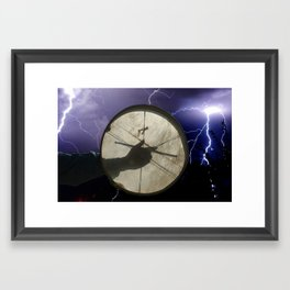 Dene Drum Framed Art Print