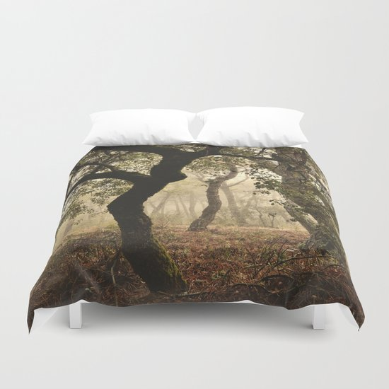 """""""Enchanted forest"""". Follow your dreams..... Duvet Cover"""