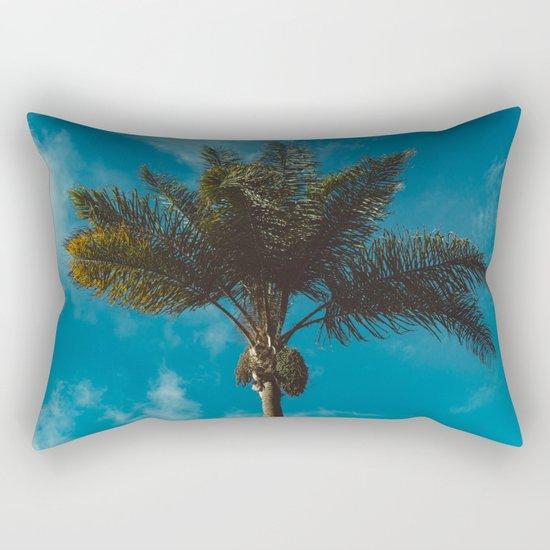 Palm Tree II Rectangular Pillow