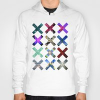 holographic Hoodies featuring XXX by Sara Eshak