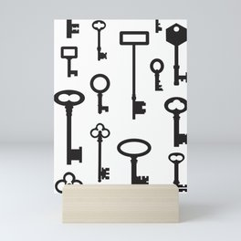 Skeleton Keys Mini Art Print
