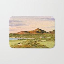 Royal County Down Golf Course Bath Mat