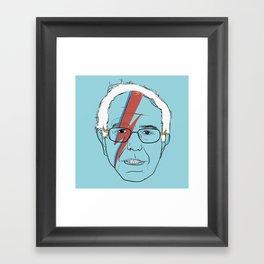 Blue Bernie Sanders 2016 Framed Art Print