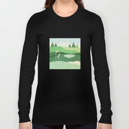On The Green Two Stokes Under Long Sleeve T-shirt