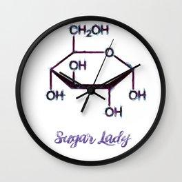 Sugar Lady Wall Clock