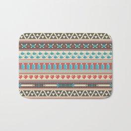 Fair-Hyle Knit Bath Mat