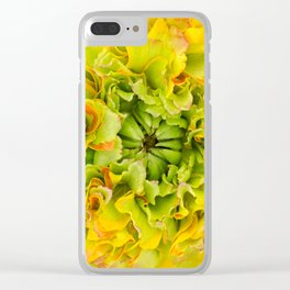 Pon Pon Trilly Ranunculus Clear iPhone Case