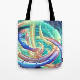 Abstract plastic structure Tote Bag