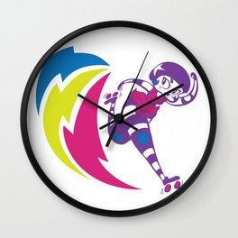 Rolling Thunder Wall Clock