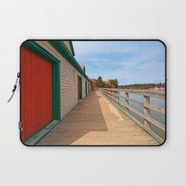 Basin Head Beach Boardwalk Laptop Sleeve
