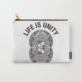 Vesica Piscis Life Is Unity Carry-All Pouch