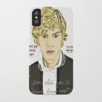 ahs iPhone & iPod Cases featuring Kyle AHS by Mia Storm