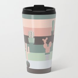 cacti colors Travel Mug