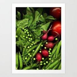 Summer Salad Art Print