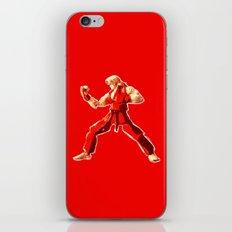 Street Fighter II - Ken iPhone & iPod Skin
