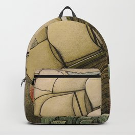 your chances are 50/50 Backpack