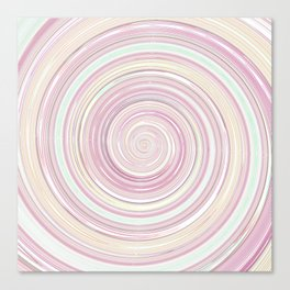 Re-Created Spin Painting No. 10 by Robert S. Lee Canvas Print