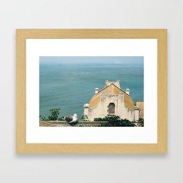 View from Alcatraz Framed Art Print