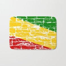 Rastafari Flag Bath Mat