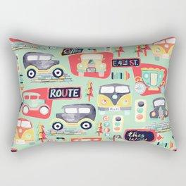 Travel Back in Time Rectangular Pillow