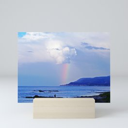 Love under the Rainbow Mini Art Print