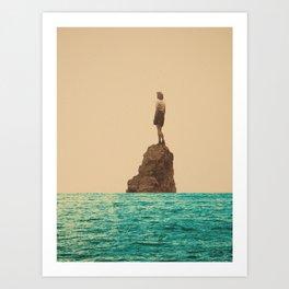 Lonesummer Art Print
