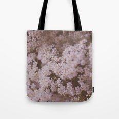White Flowers Tote Bag