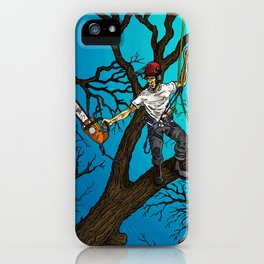 Tree Surgeons iPhone Case