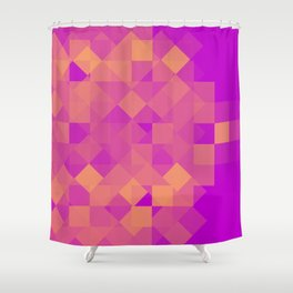 Losang Pattern Shower Curtain