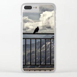 Sass Pordoi Clear iPhone Case