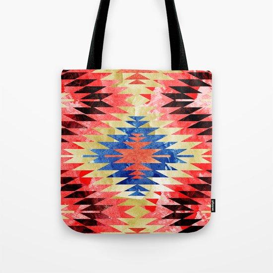 Painted Navajo Suns Tote Bag
