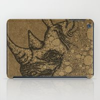 rhino iPad Cases featuring Rhino by Julia Kisselmann